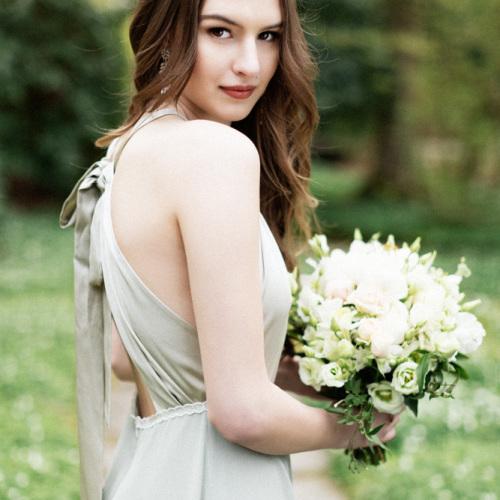 vacker tärna bröllop
