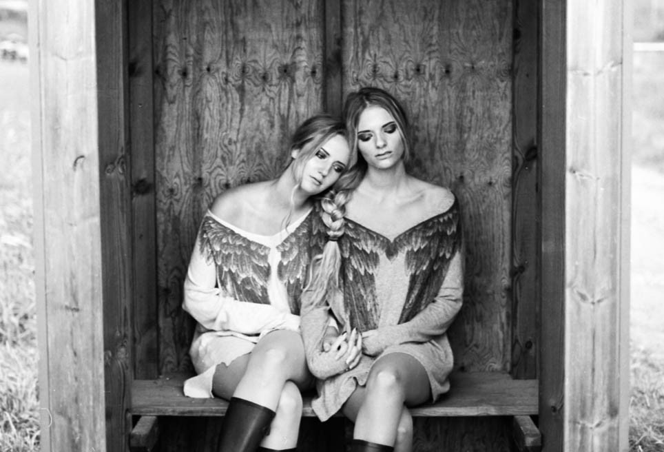 Braided together fotografering Göteborg konstprojekt svartvitt foto jenny blad