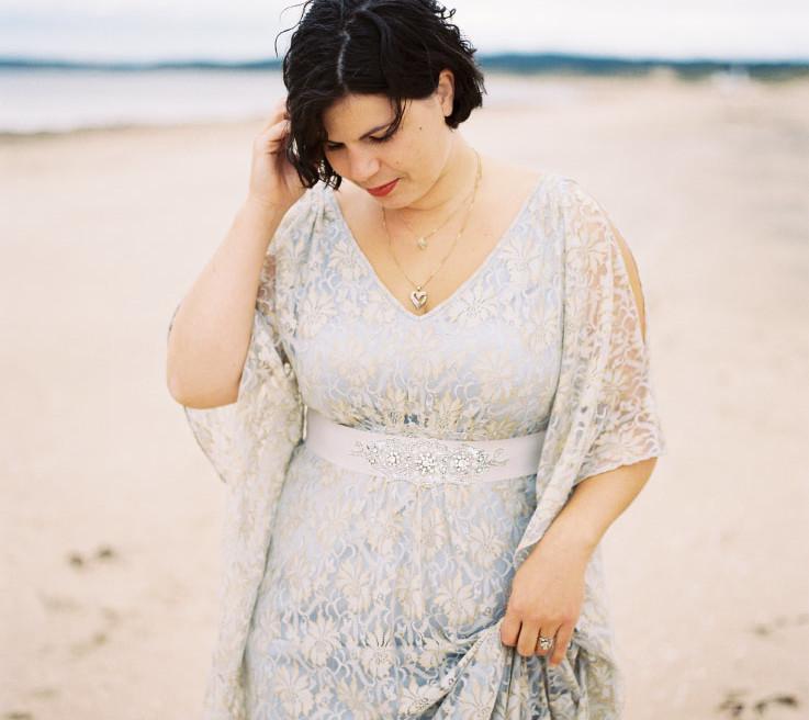 josephine blue dress